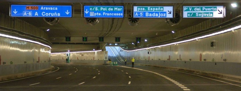 Un fallo informático obliga a cerrar los túneles de la M-30