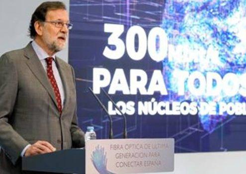 Rajoy asegura que la banda ancha llegará a todos los municipios en 4 años