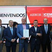 entrega_certificado_AENOR_ICEMD