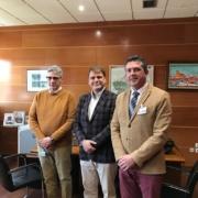 Reunión del COIICLM con el Director General de Cohesión Territorial