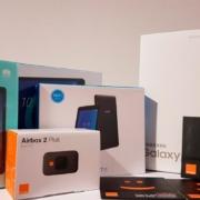 Donación de tablets por Orange
