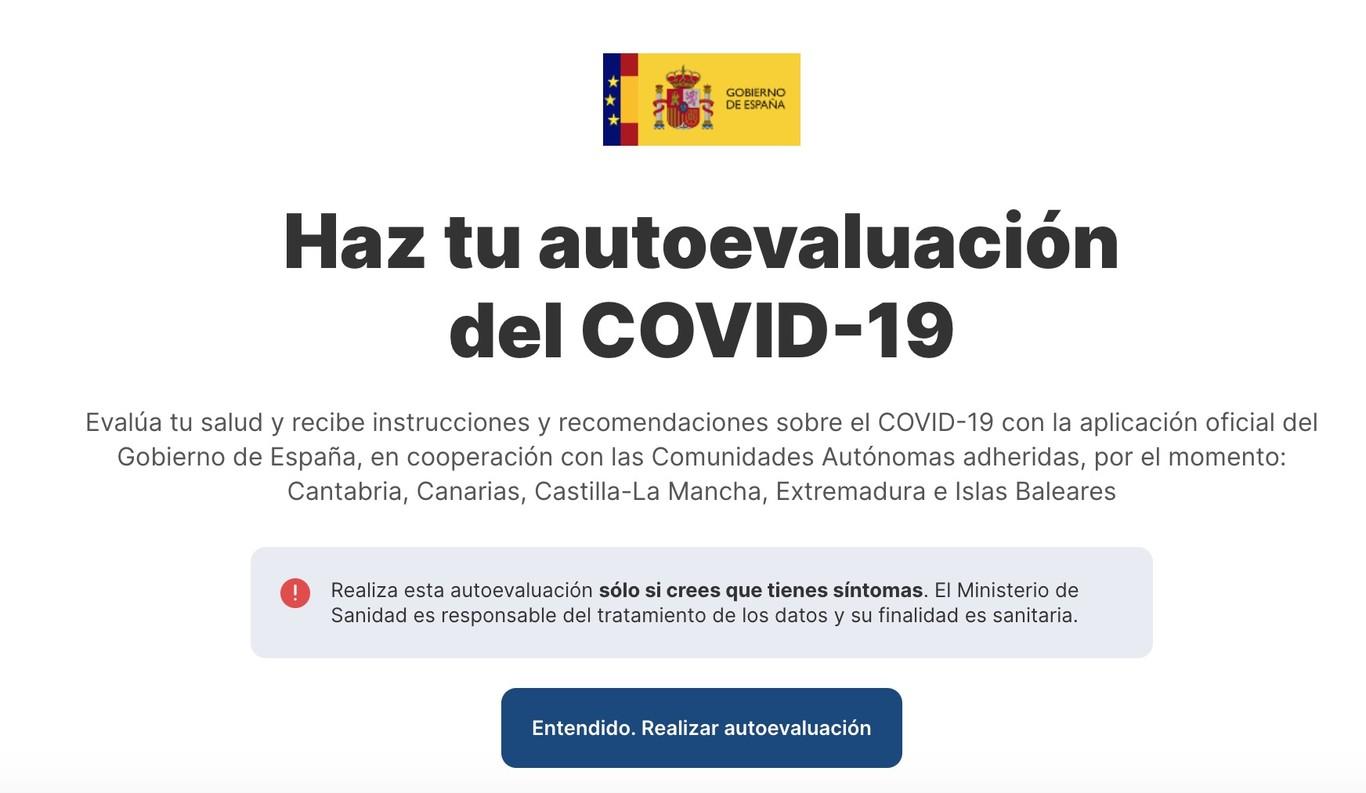 AsistenciaCovid19: el Gobierno publica todos los detalles de su aplicación sanitaria oficial