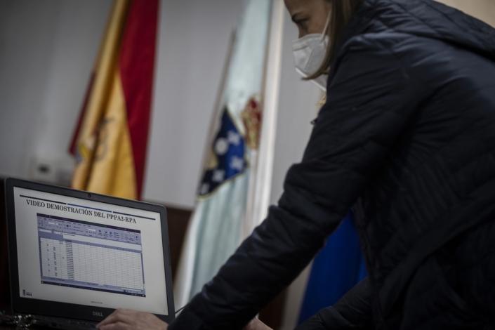 El pueblo gallego donde los robots son burócratas